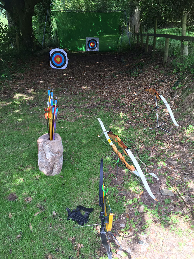 Bow and Arrow training Exmoor North Devon
