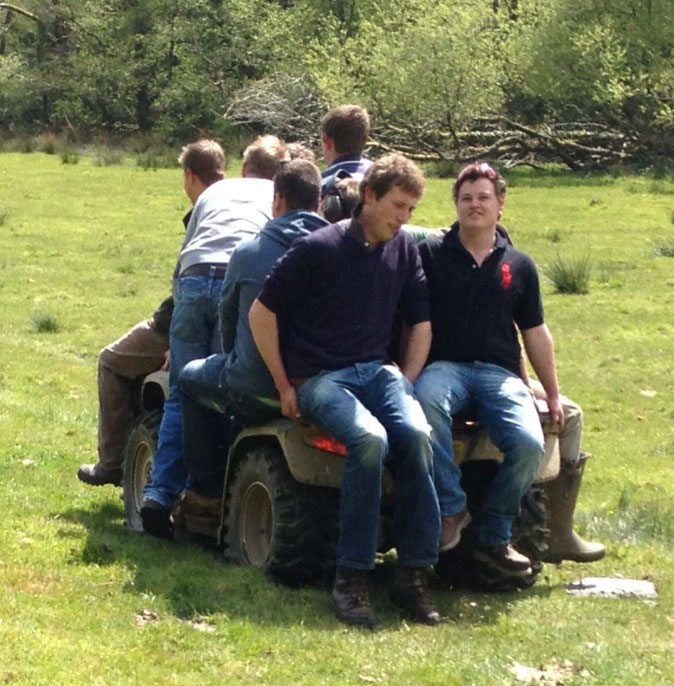 Stag group, clay shooting, stag group exmoor, clay shooting exmoor