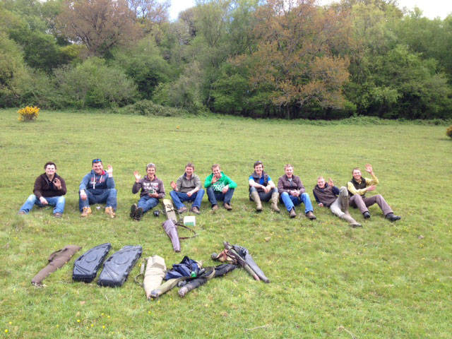 Stag and group 02 June 2013