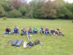 Clay Pigeon shooting groups
