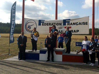 Podium finish at the european Championships