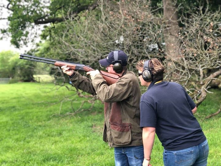 Clay Shooting tuition North Devon for all ages and abilities